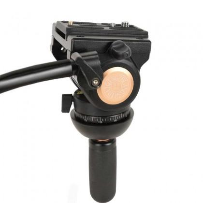 Beike QZSD Q880A 193cm Camera Tripod Aluminum Alloy Professional Photography Stand DSLR Tripod Big Tripod