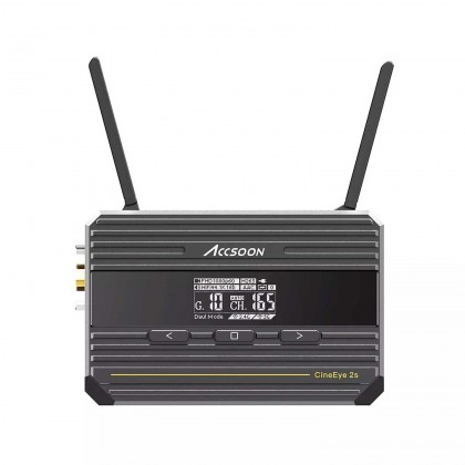 Accsoon CineEye 2s Wireless Video Transmission System SDI+HDMI Dual Interface Image Video Transmitter Receiver For Camera Phone