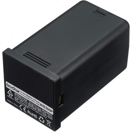 GODOX BATTERY WB300P FOR FLASH AD300PRO FULLY CHARGE IN 2.5 HOURS PROFESSIONAL LITHIUM BATTERY LARGE CAPACITY