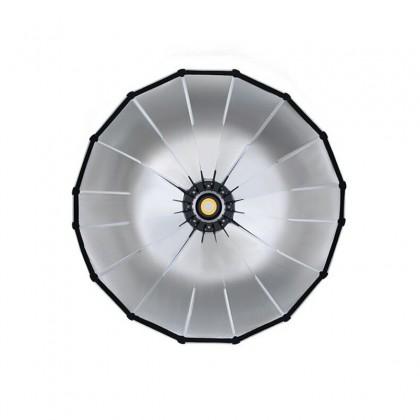 GS PARABOX 120 CM PARABOLIC LED SOFTBOX PROFESSIONAL QUICK SET-UP DEEP SOFT BOX WITH GRID AND BOWEN MOUNT FOR STUDIO LED LIGHT