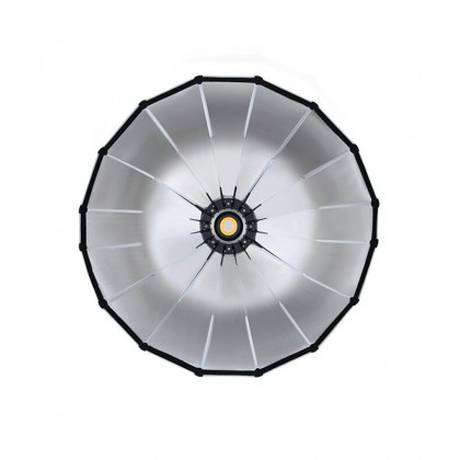 GS PARABOX 90CM PARABOLIC LED SOFTBOX PROFESSIONAL QUICK SET-UP DEEP SOFT BOX WITH GRID AND BOWEN MOUNT FOR STUDIO LED LIGHT