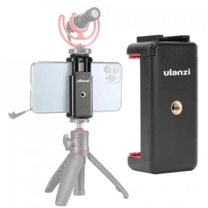 Ulanzi ST-07 Phone Holder Phone Clip With Cold Shoe For Smartphone
