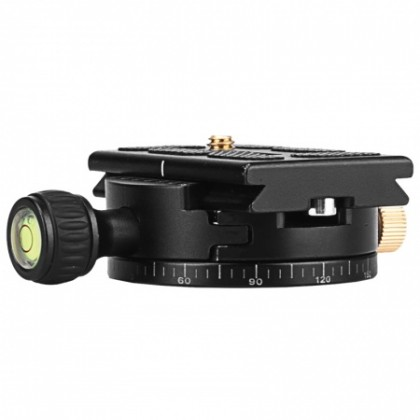 Beike QZSD Q110 Gimbal Head 360 Degree Panoramic Tripod Heads Special Base Plate For Camera DSLR