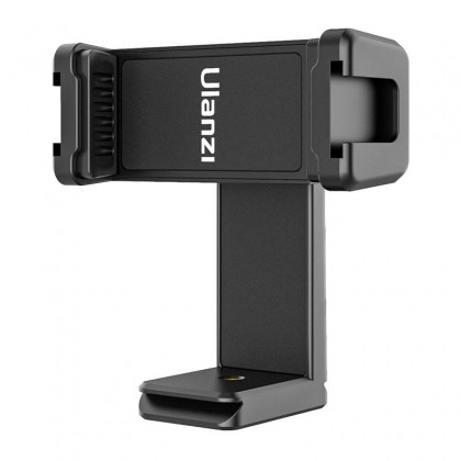 """Ulanzi ST-22 Phone Tripod Mount For Smartphone Features Dual Cold Shoe Mounts For Light Mic 1/4""""-20 Threaded Tripod Hole"""
