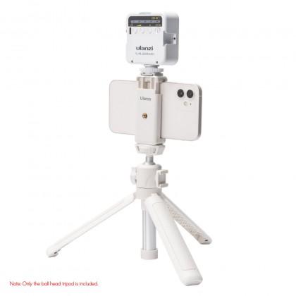 "Ulanzi MT-42 Extendable Selfie Stick Tripod 4-Section 44cm/17"" with360° Swivel Ball Head Cold Shoe"