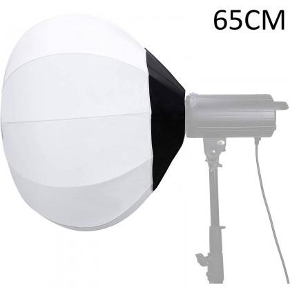 GODOX SL100BI BI COLOUR WITH GS 65CM  LANTERN SOFTBOX + 2.6M LIGHT STAND SINGLE LIGHT KIT