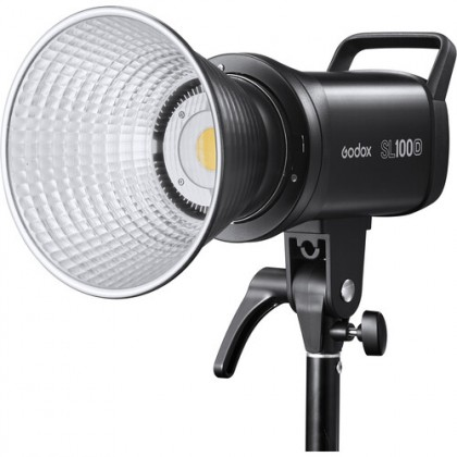 GODOX SL100D LED 2 LIGHT KIT WITH SB-GUE95 (WITH GRID) SOFTBOX + 2.6M AIR CUSHIONED LIGHT STAND COMBO