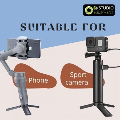 Ulanzi MT-15 Mini Tripod Extend 1/4'' Screw Mini Tripod For Camera Sport Camer Portable
