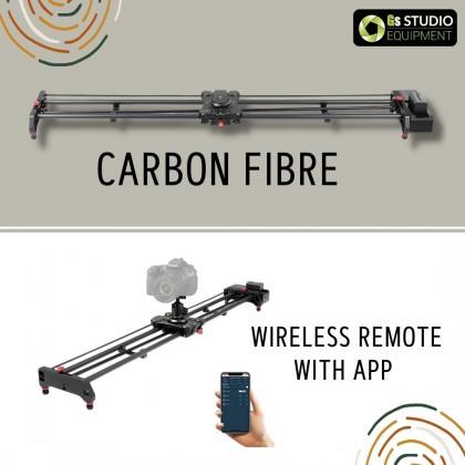 "GVM SLIDER-120 Wireless Professional Carbon Fiber Motorized Camera Slider (48"")"