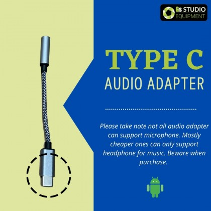 GS Microphone Audio Adapter for Smartphone