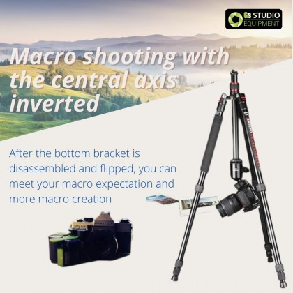 Triopo T-258 Professional Traveller's Tripod with Monopod