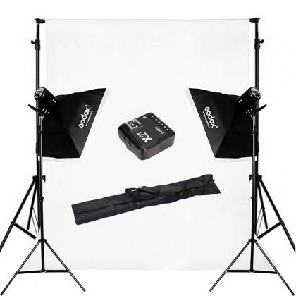 Home Studio Starter Kit 3 (Godox MS300 300w Studio Starter Pack)