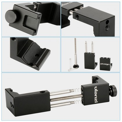 ULANZI ST-2S METAL SMARTPHONE TRIPOD MOUNT ADAPTER WITH COLD SHOE