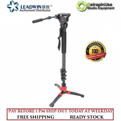 LEADWIN PROFESSIONAL VIDEO MONOPOD WIDE FEET BASE (CLIP LOCK)