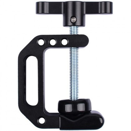 """DigitalFoto C-CLAMP WITH 1/4"""" AND 3/8"""" SCREW MOUNT FOR LIGHTING AND VIDEO EQUIPMENT"""