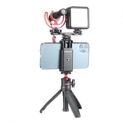 Ulanzi PT-2S PT-2 Dual Cold Shoe Mount Plate Vlog Smartphone DSLR SLR Camera Vlog Mount Extend Cold Shoe