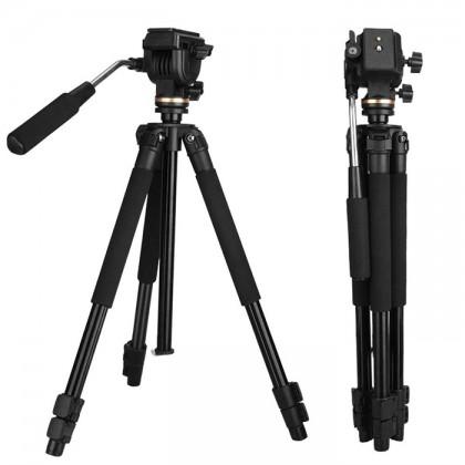 Beike QZSD Q310 Professional Panhead Tripod DSLR Mirrorless Camera Smartphone
