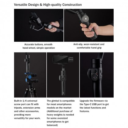 Godox ZP1 3-Axis Smartphone Gimbal Stabilizer Auto-Tracking Vlog Youtuber Live Video Record For Smartphone