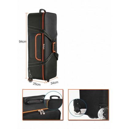 Godox CB-06 photography bag photography lighting flash light for cameras and lights light stand trolly bag