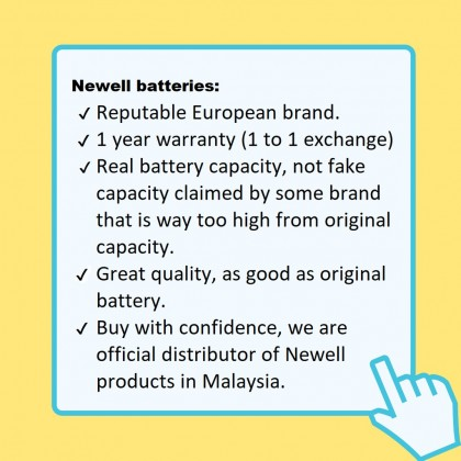 Newell Battery NP-W126 for XPRO1 / XPRO2 / XT1 / XT2 / XT10 / XT20 / XE1 / XE2 / XE2S / XM1 / XA1 / XA2 / XA3 / X1