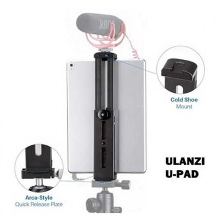 Ulanzi U-Pad Pro Aluminium Tablet Tripod Mount Holder Clamp Cold Shoe For iPad Pro for iPad Mini camera tripod