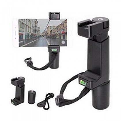 Ulanzi F-Mount Mobile Smartphone Camera Grip Holder Handle Rig Monopod With Tripod Mount And Cold Shoe Mount For Vlog