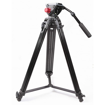 GS PT04 PROFESSIONAL VIDEOGRAPHY TRIPOD WITH FLUID VIDEO HEAD