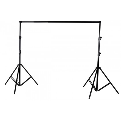 3M X 3M HEAVY DUTY BACKDROP STAND WITH BAG