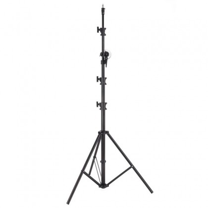 HEAVY DUTY 2 IN 1 LIGHT STAND AND BOOM STAND MAX HEIGHT 4.9M (M-3)