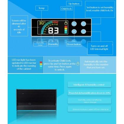 NABOXSUN DIGITAL FULL AUTO 85 LITER (85L) DRY CABINET BOX ( LATEST VERSION )