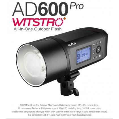 GODOX WITSTRO AD600PRO TTL HSS 600W GN87 OUTDOOR STROBE FLASH