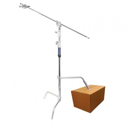 C-STAND HEAVY DUTY STAINLESS STEEL BOOM WITH SLIDING LEG