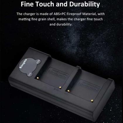 KingMa BM048-F970 Dual Micro USB Charger for NP-F Battery
