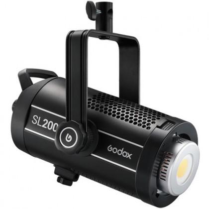 GODOX SL200W II 200W (ONLY) Light Kit Bowens Mount Daylight Balanced Led Video Light, 74000lux@1m, CRI96+ TLCI97+,8 Pre-Programmed Lighting Effects, Ultra Silent Fan