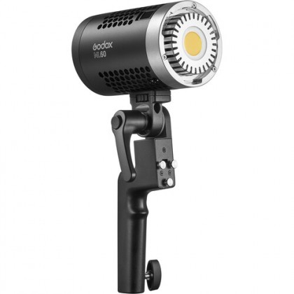 Godox ML60 60W LED Light Silent Mode Portable Brightness Adjustment Support Li-ion with AC Power Supply Outdoor LED Light