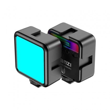 Ulanzi VL49 Mini RGB LED Video Light 2000mAh Portable Pocket Photographic Lighting Vlog Fill Light Smartphone DSLR SLR Lamp