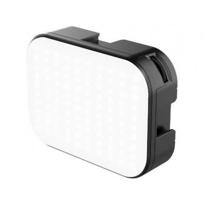 VIJIM VL100C LED Video Light 3200K-6500K 170° Adjustable Angle Ballhead 3 cold Shoe Vlog Fill Light Built-in 2000mAh Battery